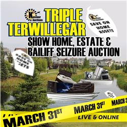 SIGN IN EARLY FOR THE MARCH 31st SUNDAY AUCTION