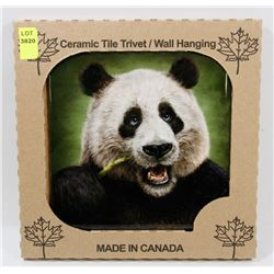 "MADE IN CANADA 6"" X 6"" CERAMIC TILE/ WALL HANGING"