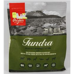 BAG OF ORIGEN TUNDRA CAT FOOD (4LB)