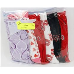 6PK LADIES SOCKS.