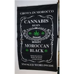 GROWN IN MOROCCO FLAG (3' X 5')