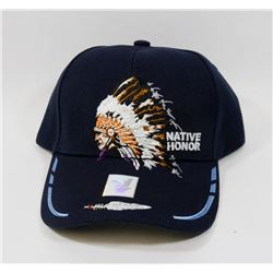 "NEW ""NATIVE PRIDE"" ADJUSTABLE BALL CAP"