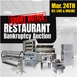 WELCOME TO OUR RING 2 RESTAURANT EQUIPMENT AUCTION