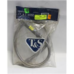 T&S STAINLESS STEEL PRE-RINSE SPRAYER HOSE