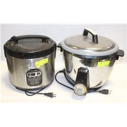 LOT OF 2  USED RICE COOKERS