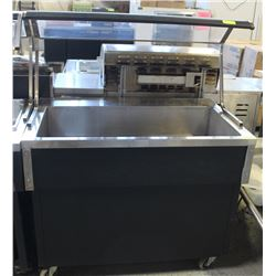 QUEST PORTABLE COLD BUFFET SERVING TABLE