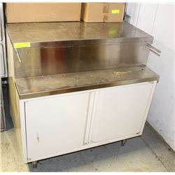 COMMERICAL STAINLESS STEEL 3' FOOD PREPERATION
