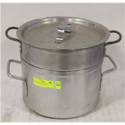 8 LIT DOUBLEPOT WITH LID
