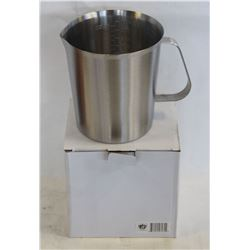 NEW 1000ML STAINLESS STEEL GRADUATED MEASURE