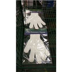 "SMALL (8.75"") CUT-RESISTANT GLOVES - LOT OF 2"
