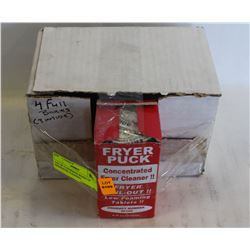 LOT OF 4 UNOPENED BOXES OF DEEPFRYER CLEANING