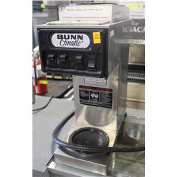 BUNN OMATIC SINGLE COFFEE MAKER & DUAL WARMER