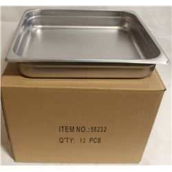 NEW STEAM PANS - ONE BOX