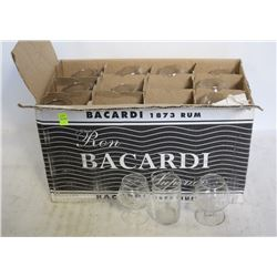 BOX OF ASSORTED BAR GLASSES