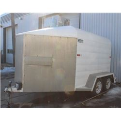 2002 STRUDI BUILD COOLER TRAILER, INSULATED WITH