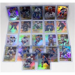 LOT OF 22 DIFFERENT UPPER DECK EDMONTON OILERS