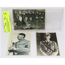 LOT OF 3 REPRODUCTION GERMAN WWII PHOTOS INCL