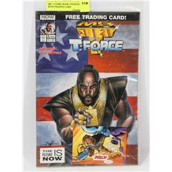 MR. T COMIC BOOK UNOPENED WITH TRADING CARD