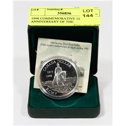 1998 COMMEMORATIVE 125TH ANNIVERSARY OF THE