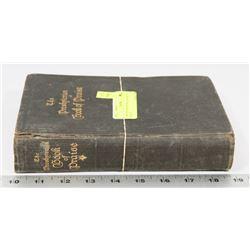 1909 THE PRESPATERIAN BOOK OF PRAISE