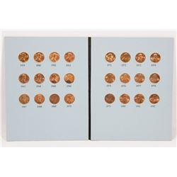 US LINCOLN MEMORIAL COIN COLLECTION.