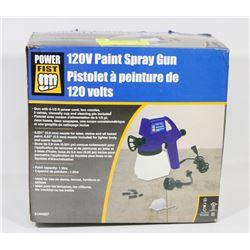 NEW POWERFIST 120V PAINT SPRAY GUN -