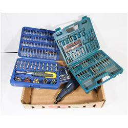 MASTERCRAFT ROTARY TOOL AND BITS AND SOCKET SETS
