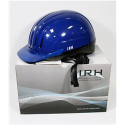 NEW BOXED INTERNATIONAL RIDING HELMET.
