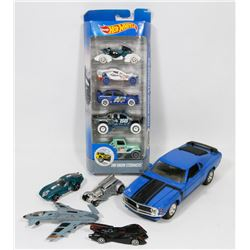 BOX W/COLLECTIBLE DIECAST CARS INCL.
