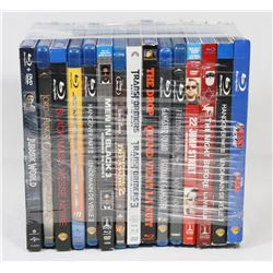 BUNDLE OF 15 BLU-RAY MOVIES