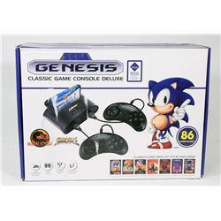 NEW SEGA GENESIS CLASSIC DELUXE 86 GAMES CONSOLE