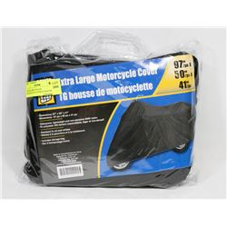 "EXTRA LARGE NYLON MOTORCYCLE COVER 41""X50""X97"""