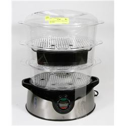 PRESIDENTS CHOICE 3 TIER FOOD STEAMER