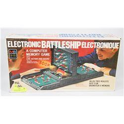 VINTAGE COMPLETE BATTLESHIP ELECTRONIC GAME