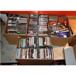 LOT OF 600 ASSORTED CDS