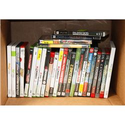 39 ASSORTED VIDEO GAMES, PSP,PS2,WII, PS3, GAME