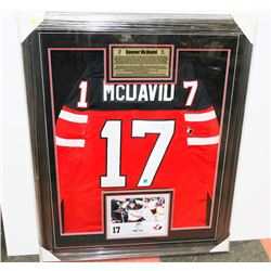 CONNER MCDAVID TEAM CANADA SIGNED