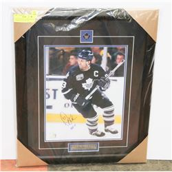DOUG GILMOUR  AUTOGRAPHED & FRAMED PICTURE W/