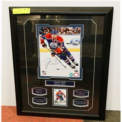 TAYLOR HALL SIGNED FRAMED PHOTO