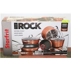 NEW STARFRIT THE ROCK INDUCTION READY COOKING SET