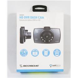 SCOSCHE HD DASH CAMERA 1080P WIDE ANGLE