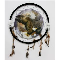 "NEW LARGE 24"" WIDE EAGLES DREAMCATCHER"