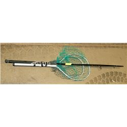 FLY FISHING ROD WITH 2 NETS.