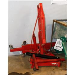 HEAVY DUTY ENGINE STAND/LIFT AS IS