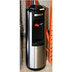 POLAR BLACK ST STEEL HOT/COLD WATER DISPENSER AS