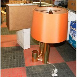 LOT OF 2 MID CENTURY TABLE LAMPS