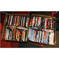 LOT OF 240 ASSORTED DVDS