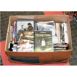 BOX W/50 DVD MOVIES - ELECTRONICS