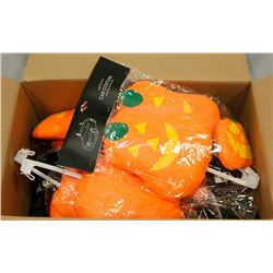 LARGE BOX OF ASSORTED HALLOWEEN CAR COSTUMES