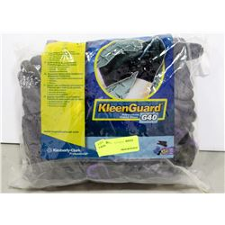 BAG OF 11 PAIRS OF KLEENGUARD POLYURETHANE GLOVES